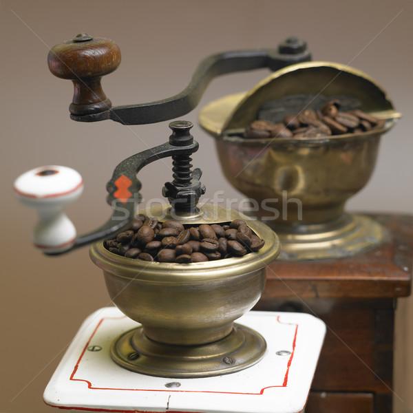 кофе продовольствие пить интерьер напитки свежие Сток-фото © phbcz