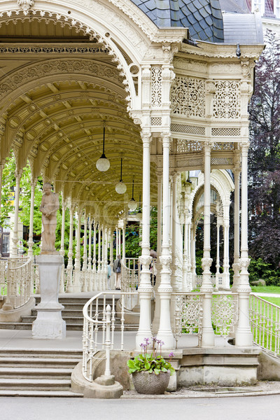 Sadova Colonnade, Karlovy Vary (Carlsbad), Czech Republic Stock photo © phbcz