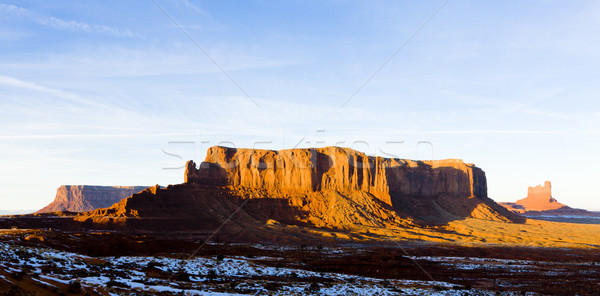 Sentinel Mesa, Monument Valley National Park, Utah-Arizona, USA Stock photo © phbcz