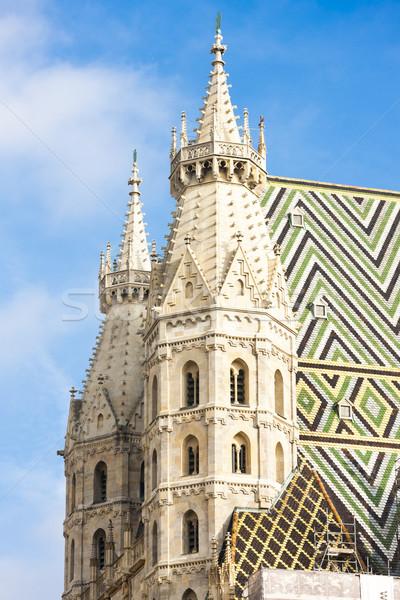 Katedry Wiedeń Austria budynku miasta podróży Zdjęcia stock © phbcz