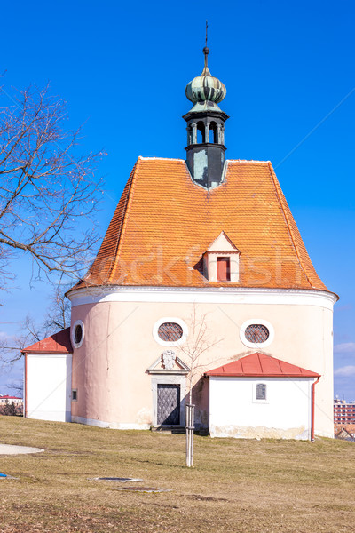 Church of Saint Anthony, Znojmo - Hradiste, Czech Republic Stock photo © phbcz
