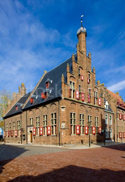 town hall, Doesburg, Gelderland, Netherlands Stock photo © phbcz