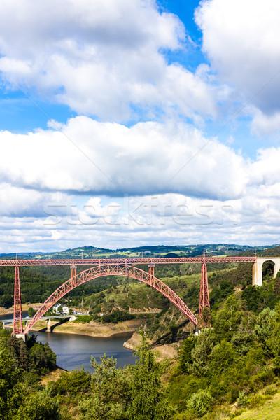 Departamento Francia edificio puente viaje ingeniería Foto stock © phbcz