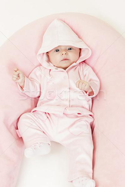 3  ヶ月 古い 少女 赤ちゃん ストックフォト © phbcz