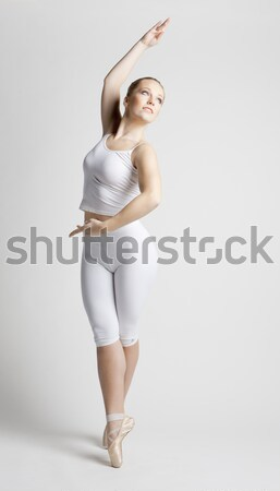 Stock photo: ballet dancer