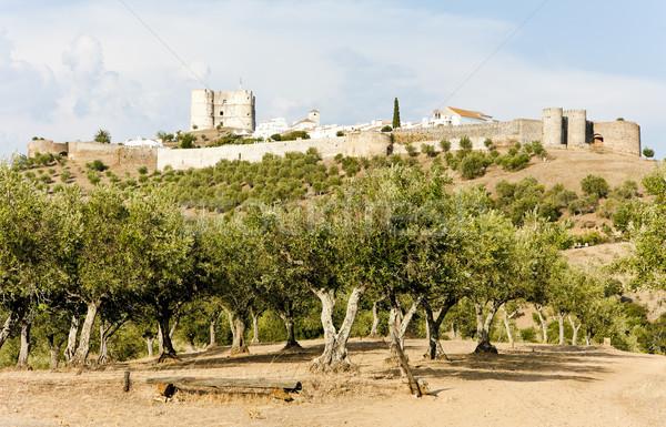ポルトガル ツリー 旅行 城 アーキテクチャ 歴史 ストックフォト © phbcz