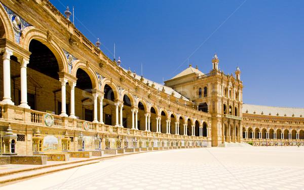 Spanish Square (Plaza de Espana), Seville, Andalusia, Spain Stock photo © phbcz