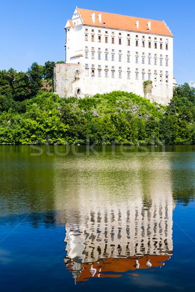дворец Чешская республика воды здании путешествия архитектура Сток-фото © phbcz