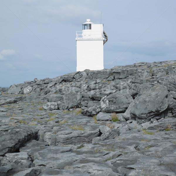 lighthouse, Black Head, County Clare, Ireland Stock photo © phbcz