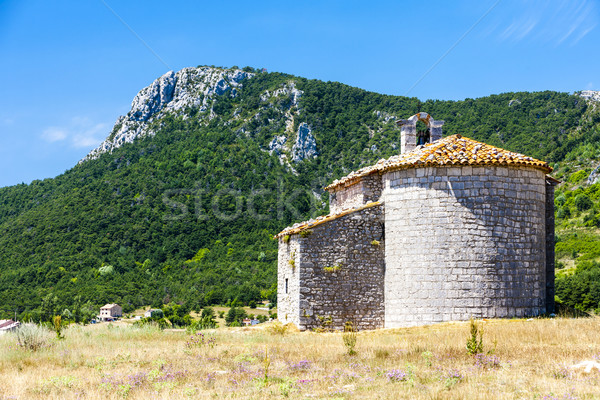 Chapel Notre-Dame de Gratemoine, Seranon, Provence, France Stock photo © phbcz