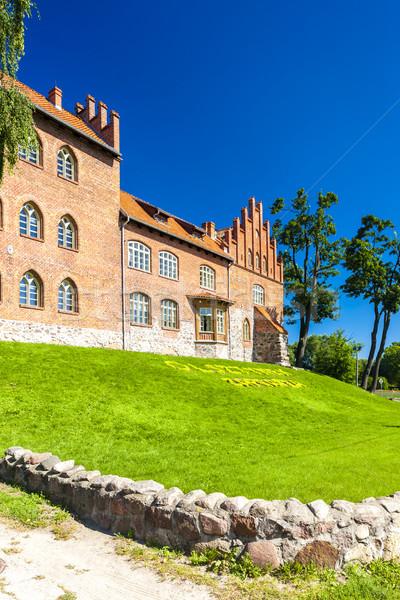 Castle in Olsztynek, Warmian-Masurian Voivodeship, Poland Stock photo © phbcz