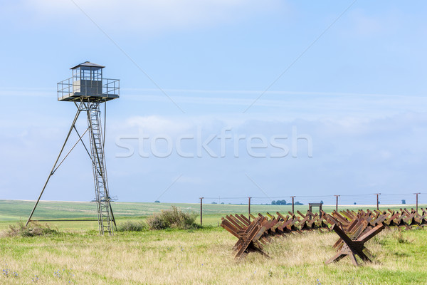 patrol tower near Satov, Czech Republic Stock photo © phbcz
