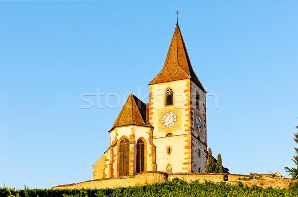 Stockfoto: Frankrijk · gebouw · architectuur · geschiedenis · dorp · buitenshuis