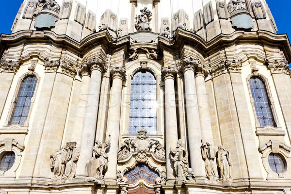Peregrinação igreja Polônia edifício arquitetura história Foto stock © phbcz