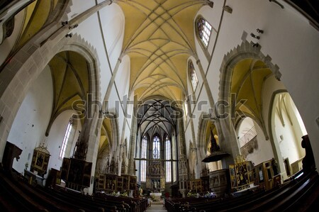 interior of Cathedral Notre Dame, Amiens, Picardy, France Stock photo © phbcz