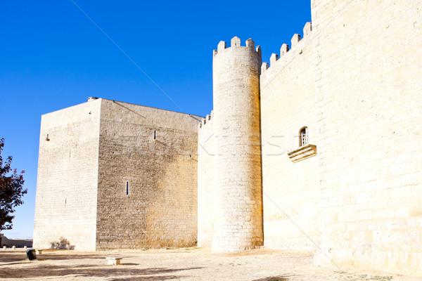 Castle of Montealegre, Castile and Leon, Spain Stock photo © phbcz