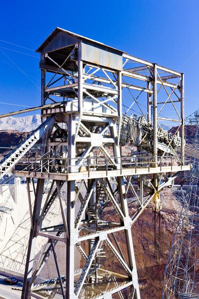 Hoover Dam surroundings, Arizona-Nevada, USA Stock photo © phbcz