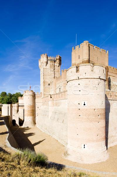 ラ 城 建物 アーキテクチャ 歴史 中世 ストックフォト © phbcz