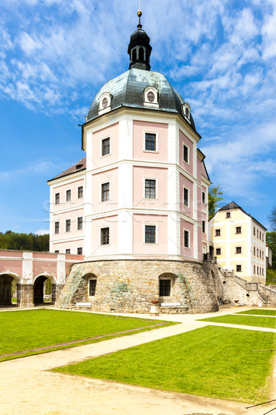 palace Becov nad Teplou, Czech Republic Stock photo © phbcz