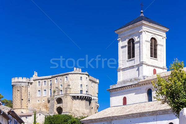 Département France maison église Voyage château Photo stock © phbcz