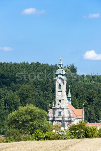 Manastır düşük Avusturya Bina mimari Avrupa Stok fotoğraf © phbcz