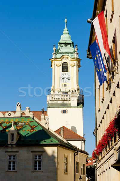 Old Town hall, Bratislava, Slovakia Stock photo © phbcz