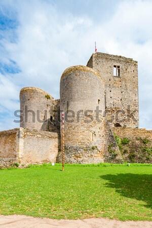 Villandraut Castle, Aquitaine, France Stock photo © phbcz