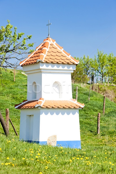 Işkence Çek Cumhuriyeti Bina mimari karahindiba sütun Stok fotoğraf © phbcz