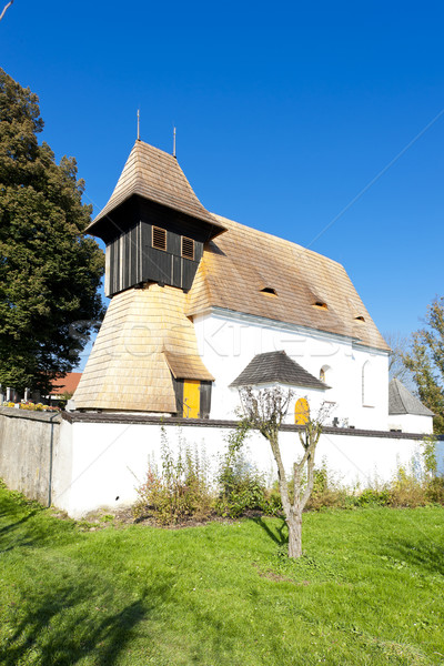 church of Saints Philip and James, Mnichovice, Czech Republic Stock photo © phbcz