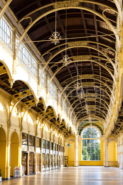 interior of Colonnade, Marianske Lazne (Marienbad), Czech Republ Stock photo © phbcz