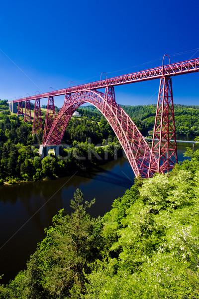 Garabit Viaduct, Cantal D Stock photo © phbcz