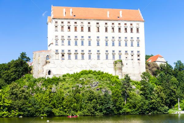 Plumlov Palace, Czech Republic Stock photo © phbcz