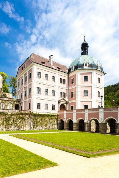宮殿 チェコ共和国 建物 旅行 アーキテクチャ ヨーロッパ ストックフォト © phbcz