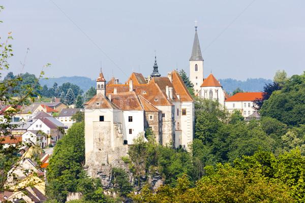 Castle of Raabs an der Thaya, Lower Austria, Austria Stock photo © phbcz