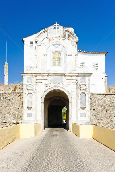 gateway to Elvas, Alentejo, Portugal Stock photo © phbcz