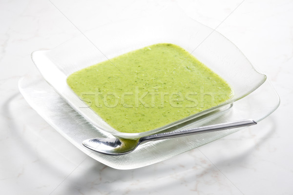 mix broccoli and cauliflower soup Stock photo © phbcz