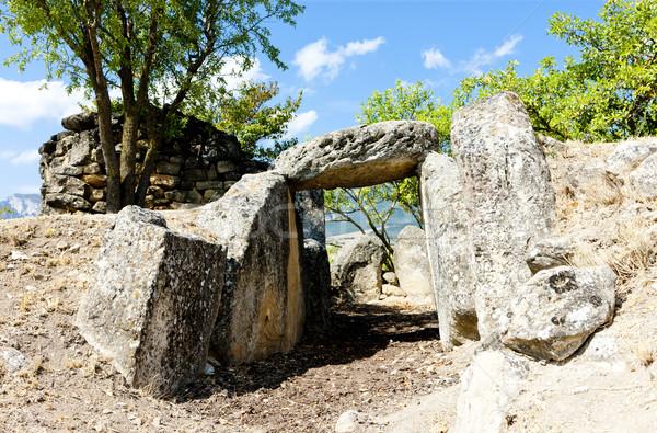 San Martin's tomb, La Rioja, Spain Stock photo © phbcz