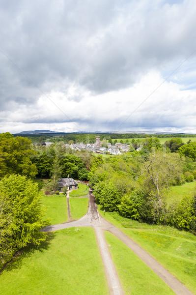 Szkocji Europie w. odkryty Zjednoczone Królestwo Zdjęcia stock © phbcz