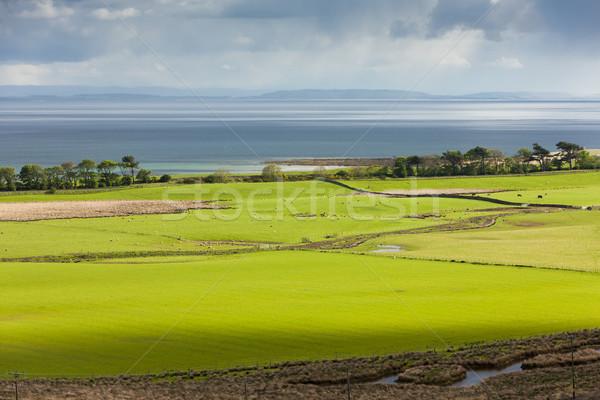 Landschap hoogland Schotland zee Europa kust Stockfoto © phbcz