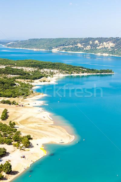 St Croix Lake, Verdon Gorge, Provence, France Stock photo © phbcz