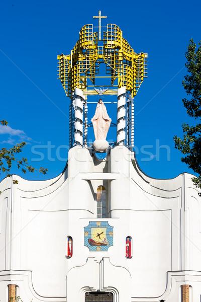 Польша Церкви архитектура улице за пределами фасад Сток-фото © phbcz