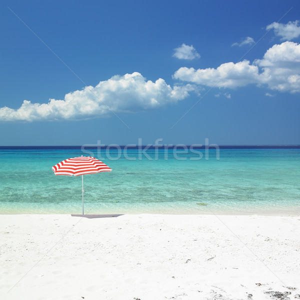 sunshade, Mar Stock photo © phbcz