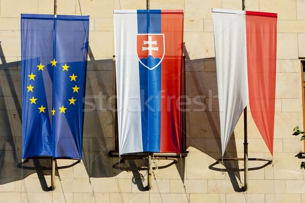 Steaguri Bratislava Slovacia Imagine de stoc © phbcz
