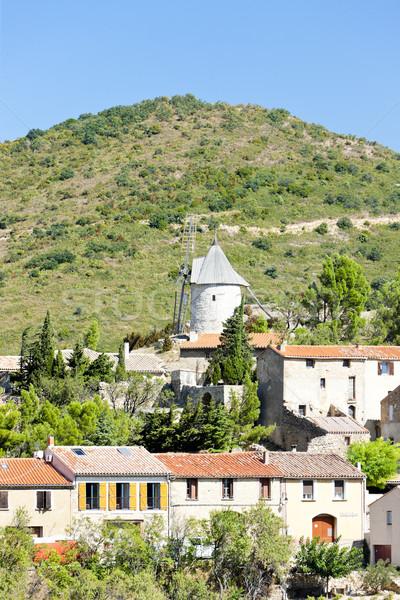 Cucugnan, Languedoc-Roussillon, France Stock photo © phbcz