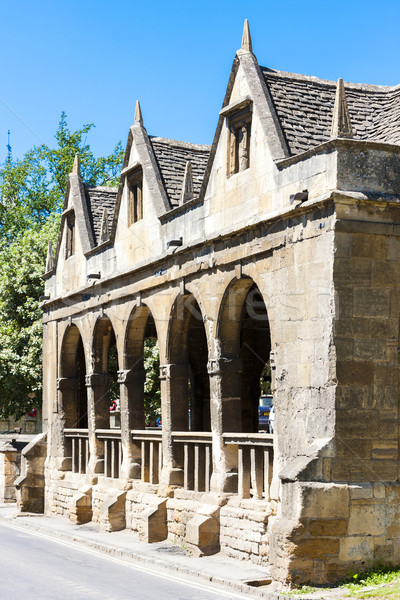 Old Market Hall, Chipping Camden, Gloucestershire, England Stock photo © phbcz