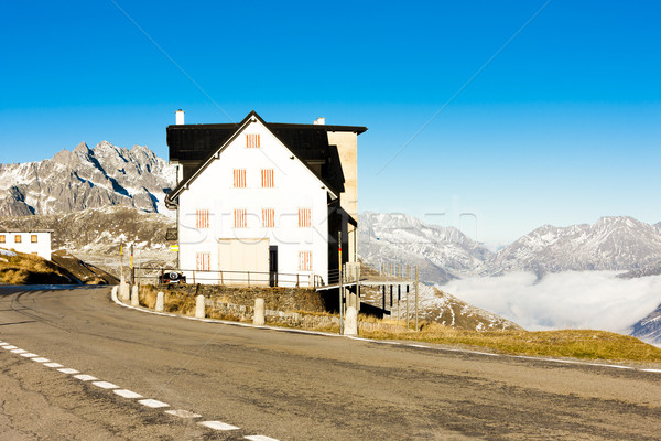 Svizzera casa panorama viaggio montagna autunno Foto d'archivio © phbcz