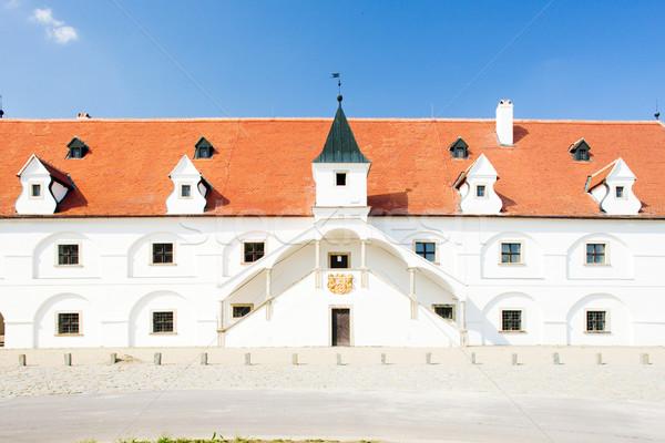 renaissance water mill, Slup, Czech Republic Stock photo © phbcz