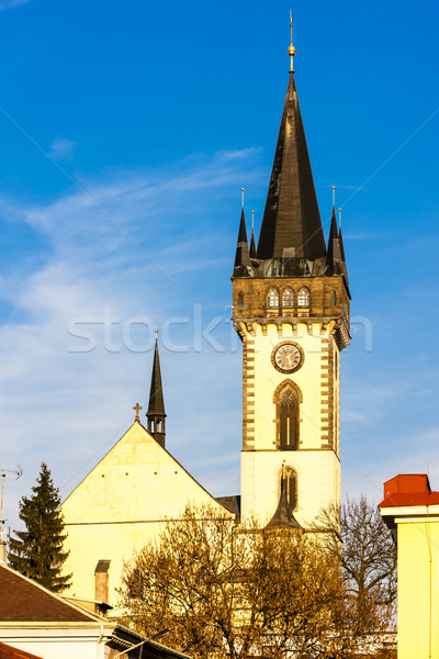 the Church of Saint John the Baptist, Dvur Kralove nad Labem, Cz Stock photo © phbcz