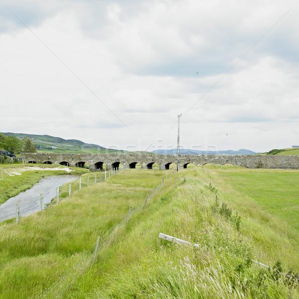 Brug Ierland gebouw reizen architectuur bruggen Stockfoto © phbcz