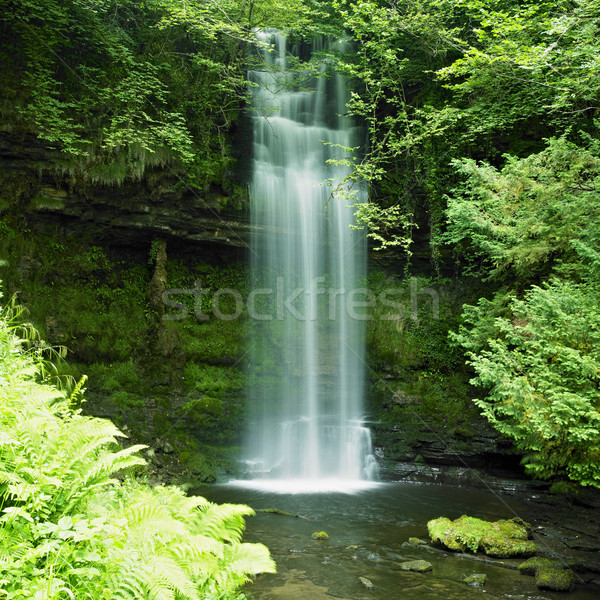 Glencar Waterfall, County Leitrim, Ireland Stock photo © phbcz